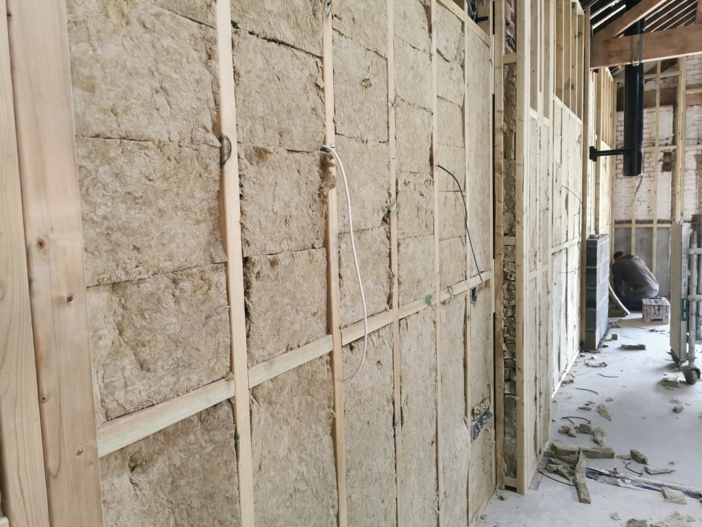 Image showing Acoustic Insulation to party walls